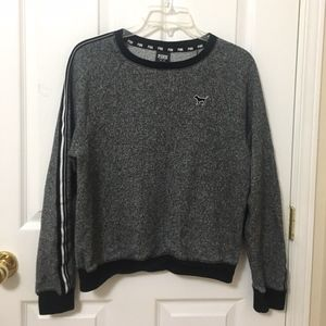 Victoria's Secret Pink Salt and Pepper Sweatshirt